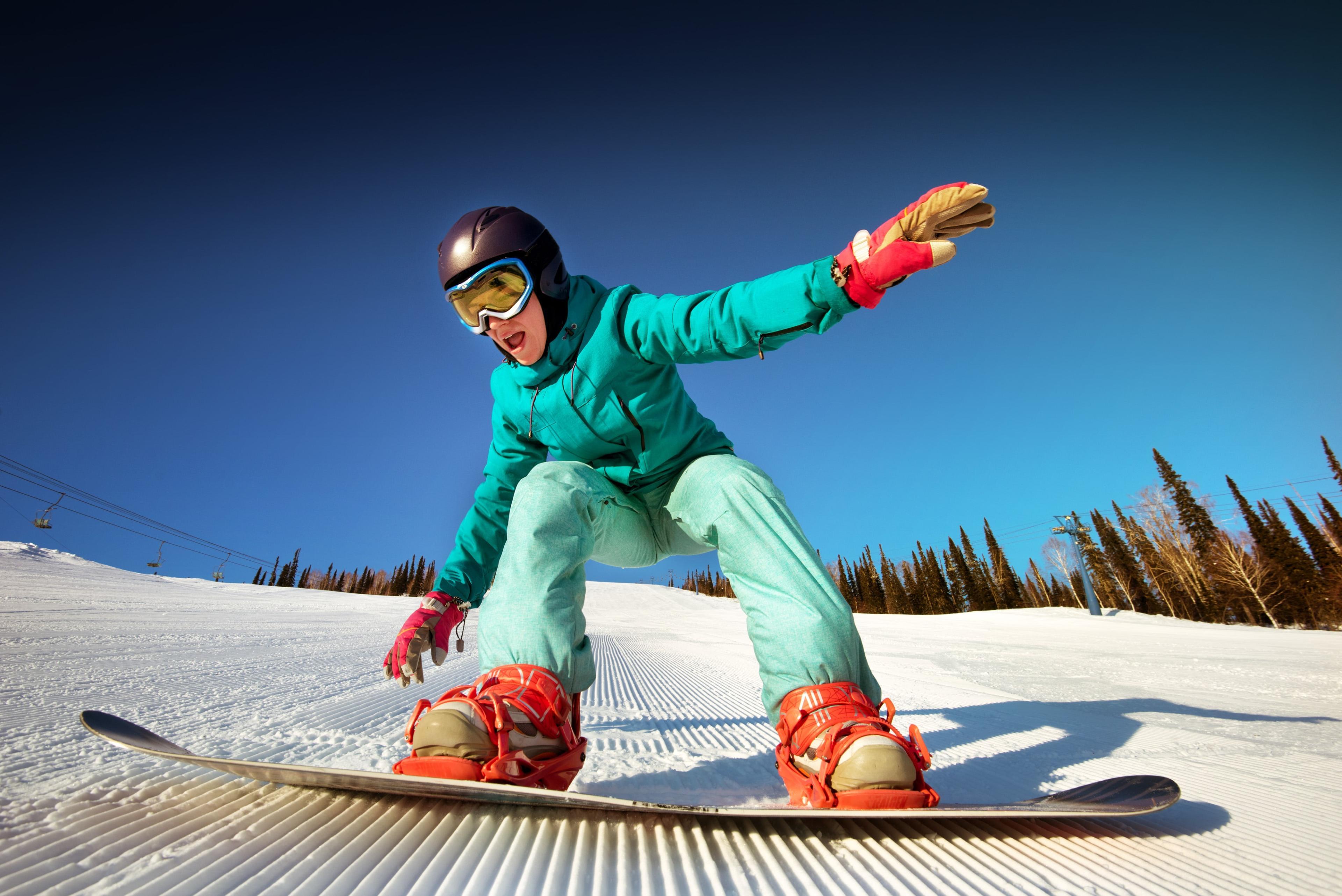 Snowboardkurs für Kinder & Erwachsene - Alle Levels
