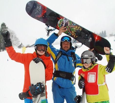 Snowboardlessen kinderen (8+) en volwassenen - Beginners