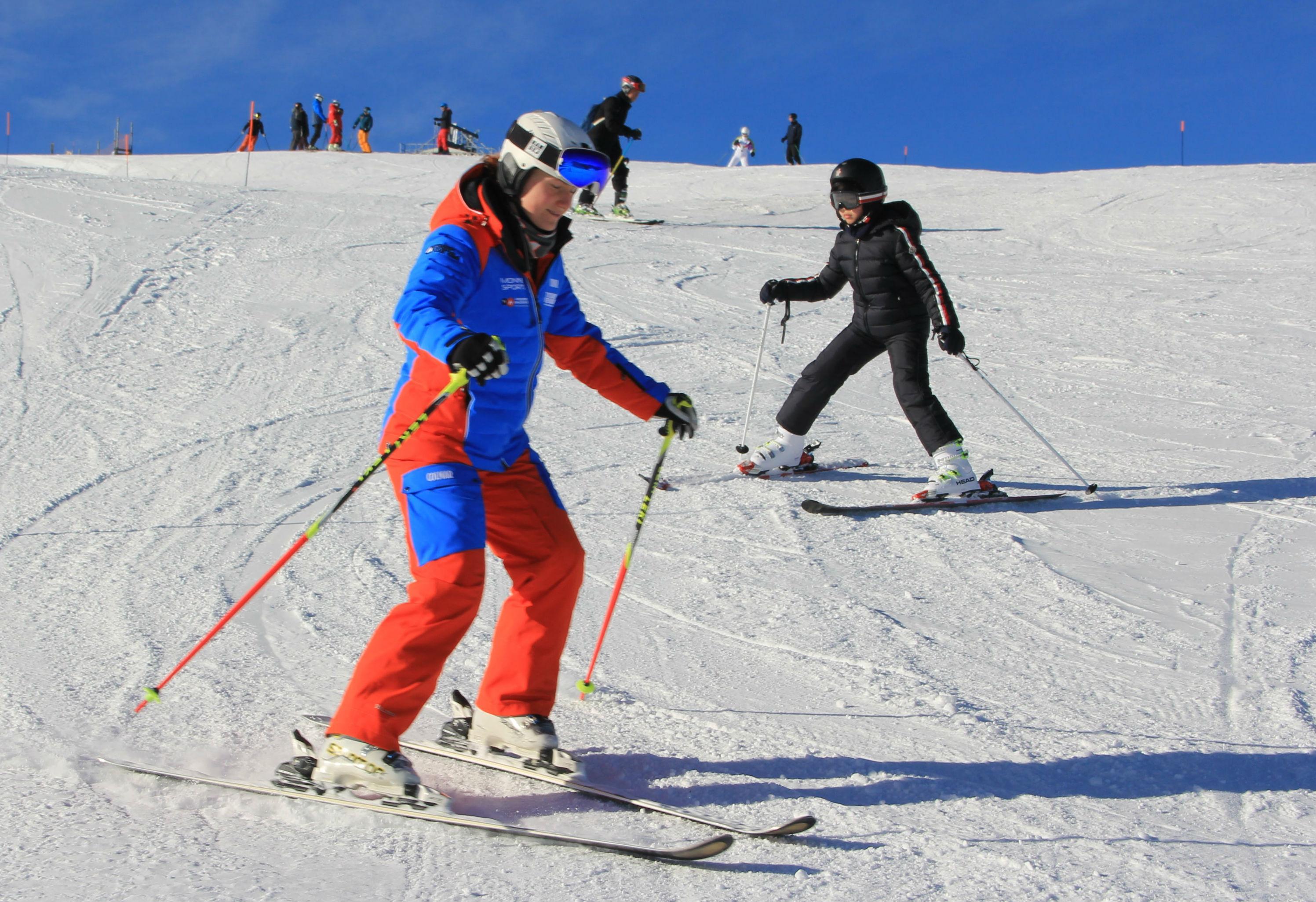 Ski Instructor Private for Kids (4-15years) - Beginner