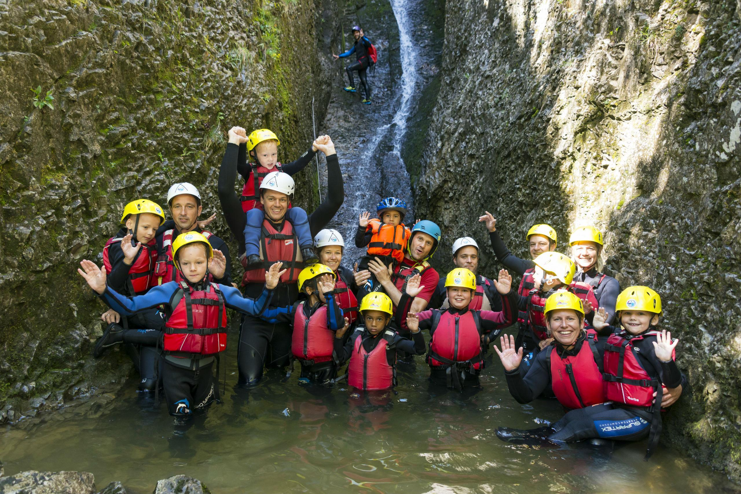 Adventure Club Kaiserwinkl Canyoning For Kids