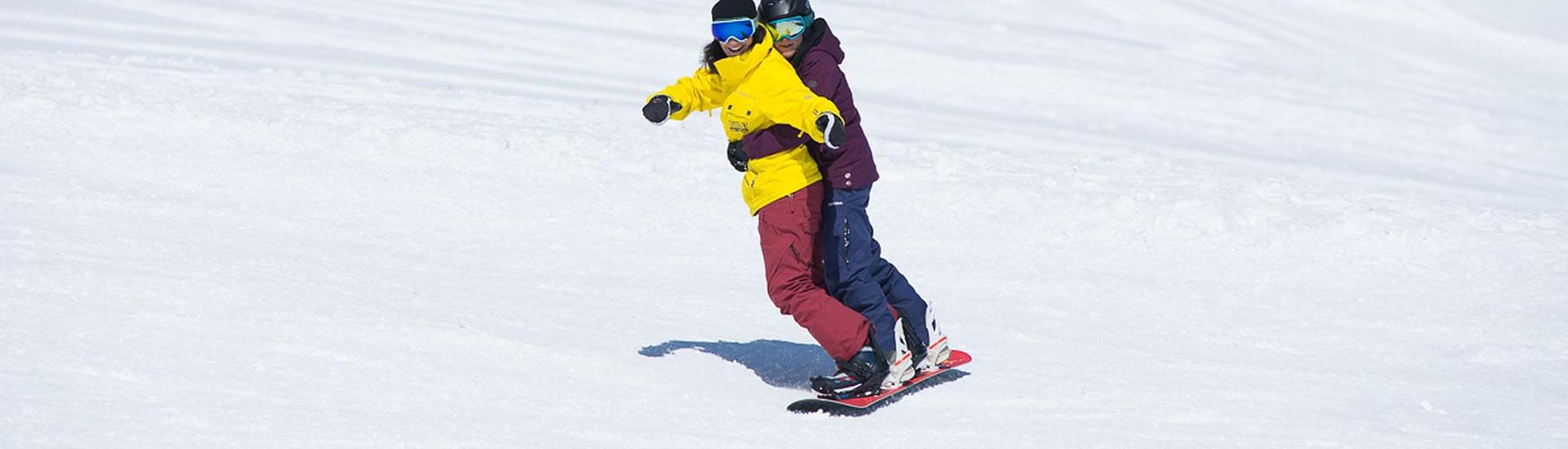 Snowboard Instructor Private - Tandemsnowboard