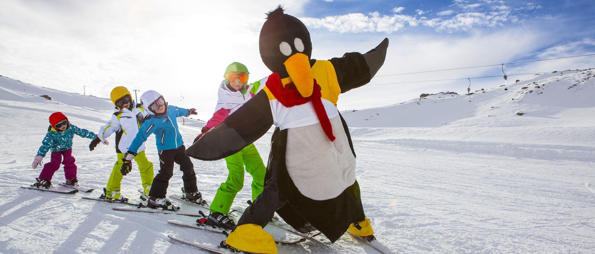 Skikurs für Kinder (5-15 Jahre) - Anfänger
