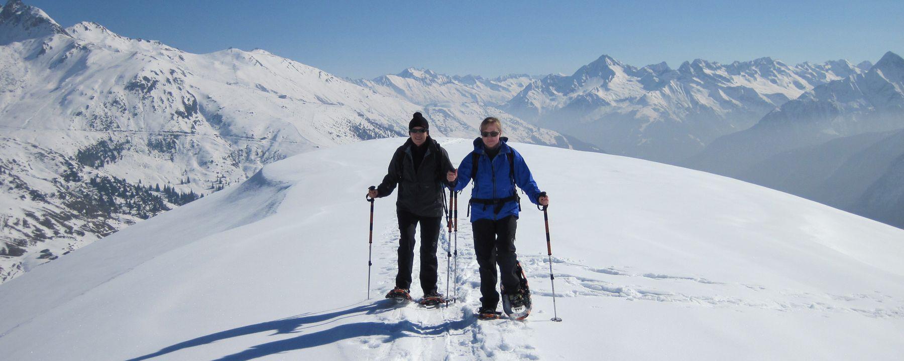 Snowshoeing Summit Tour