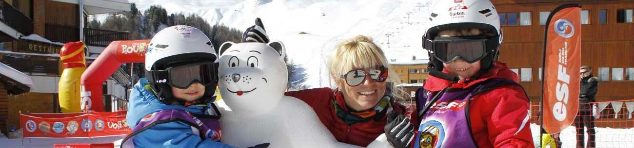 """Ski-Trial Lesson """"Piou Piou"""" (3-4 years) - Low Season"""