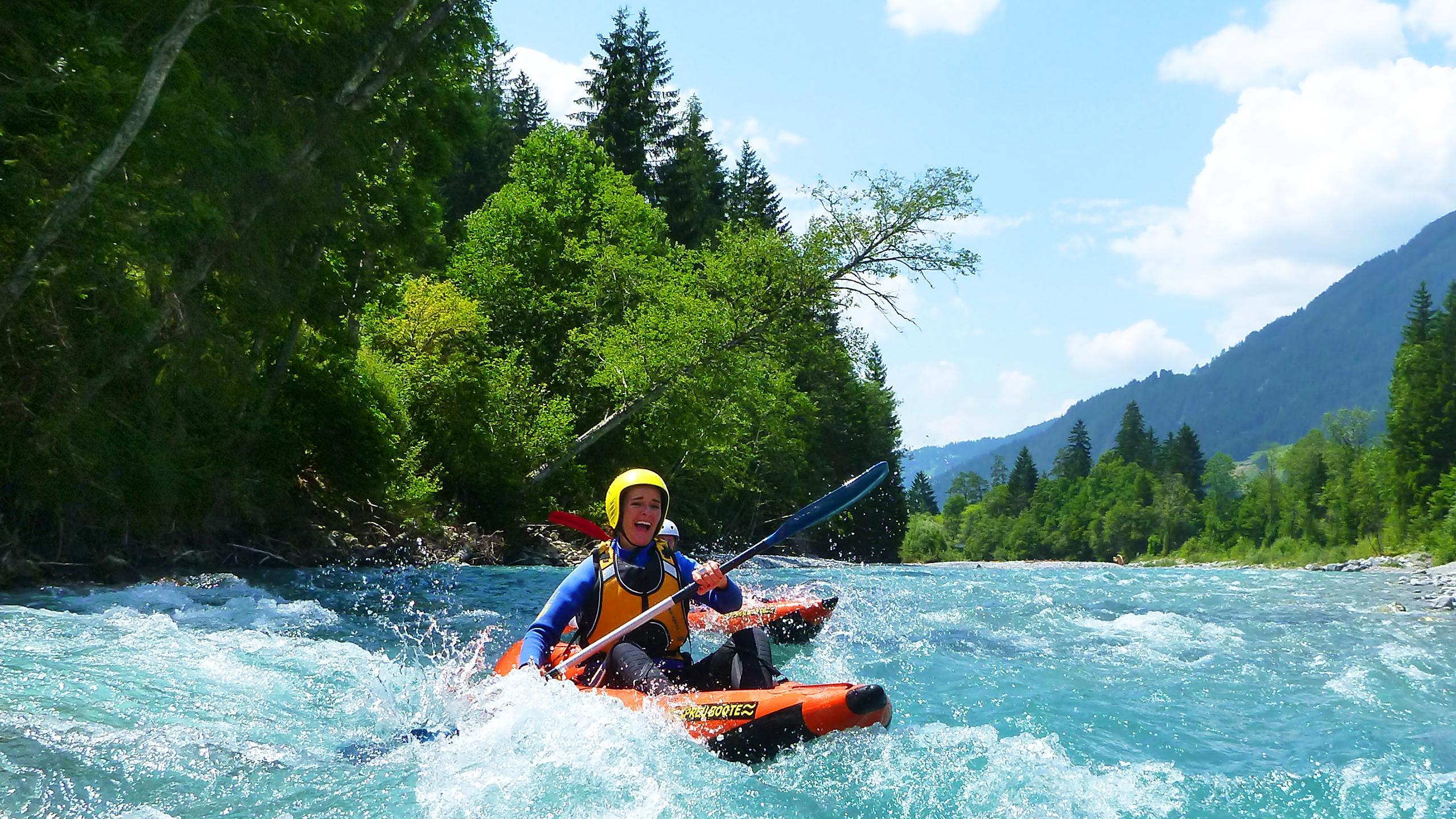 Kayak Rafting Level 3 Iller