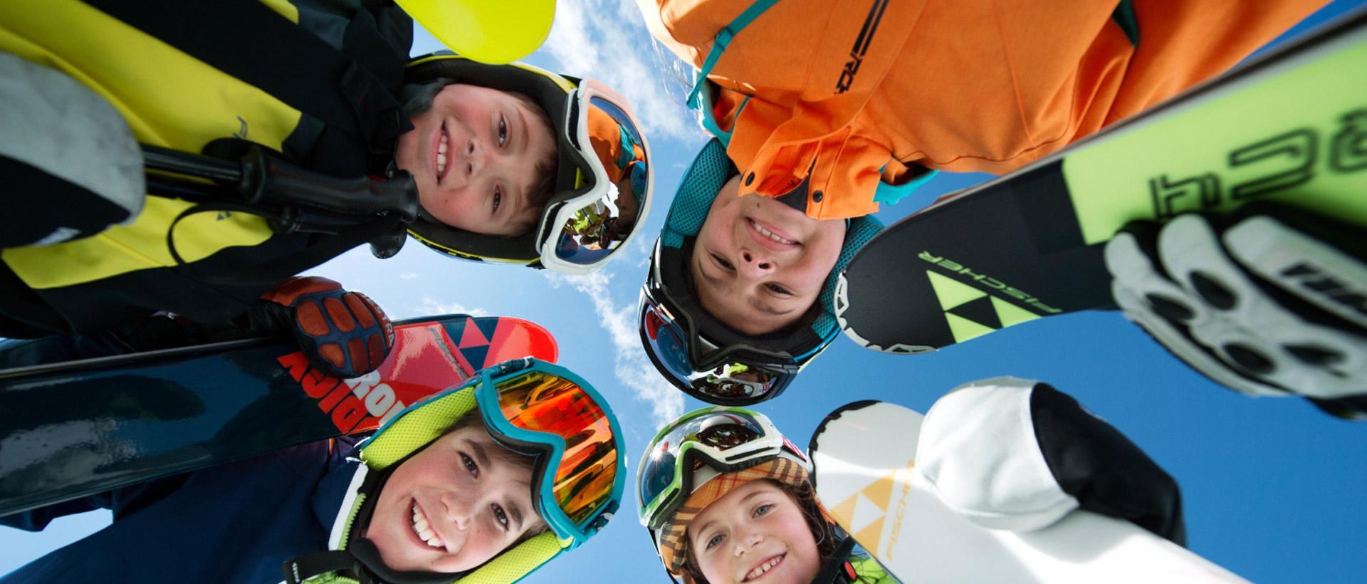 """Skikurs """"Wochenende"""" für Kinder (5-15 Jahre) - Alle Levels"""