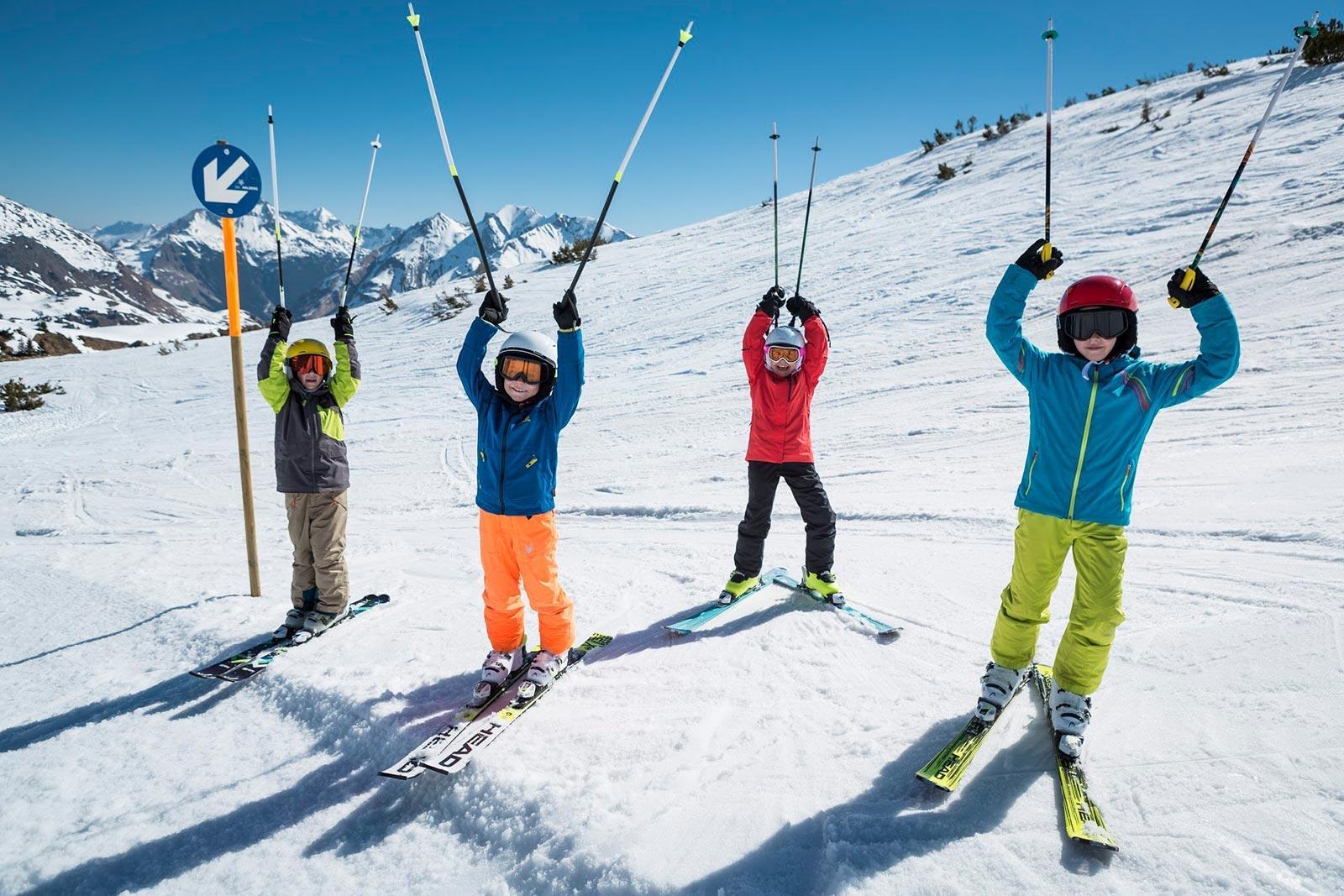 Skikurs für Kinder (4-15 Jahre) - Fortgeschritten