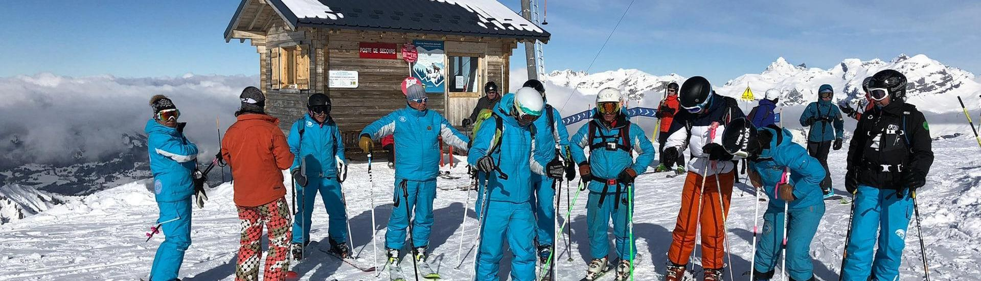 Ski Lessons Teens & Adults - Flaine - Beginner - Afternoon