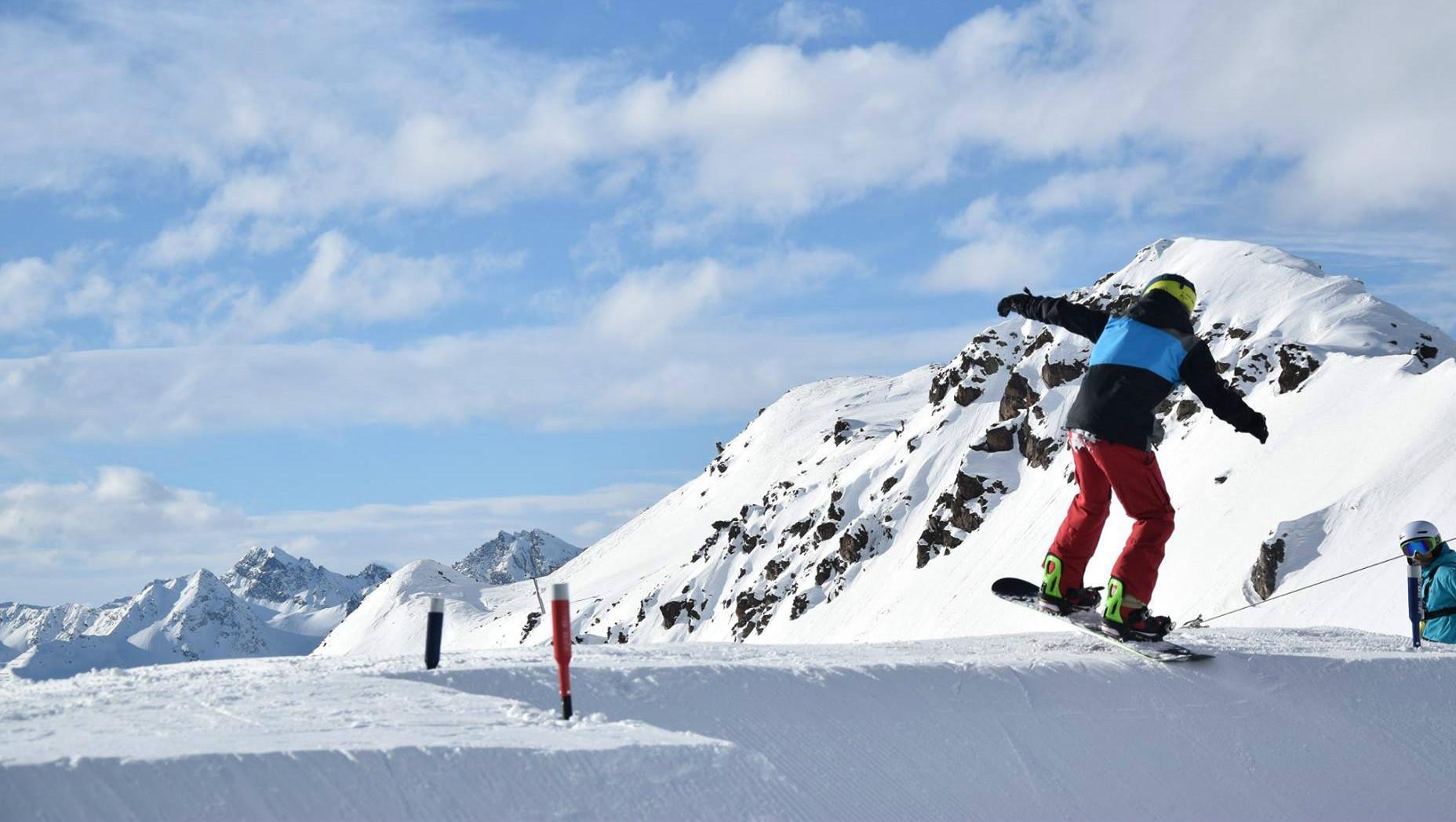 Snowboardkurs für Kinder (8-15 Jahre) - Alle Levels