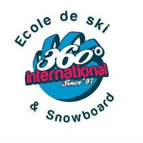 Logo Ski School 360 Les Gets