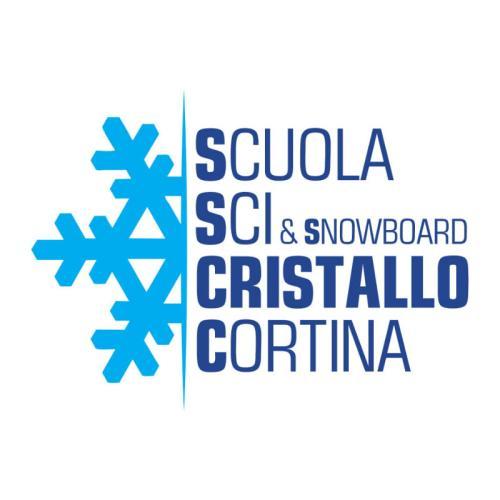 Logo Scuola di Sci e Snowboard Cristallo Cortina