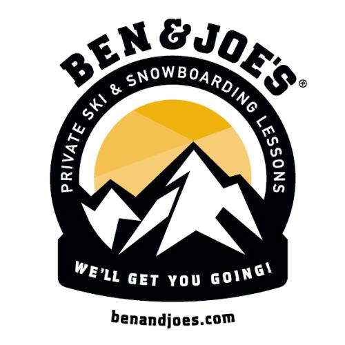 Logo Ben&Joe's, private ski and snowboarding lessons