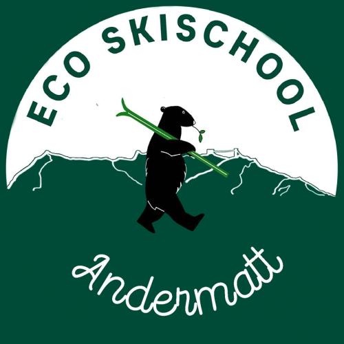 Logo Eco Ski School Andermatt