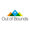 Logo Out of Bounds Snowboard School