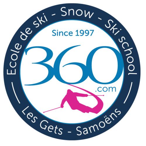 Logo Ski School 360 Samoëns