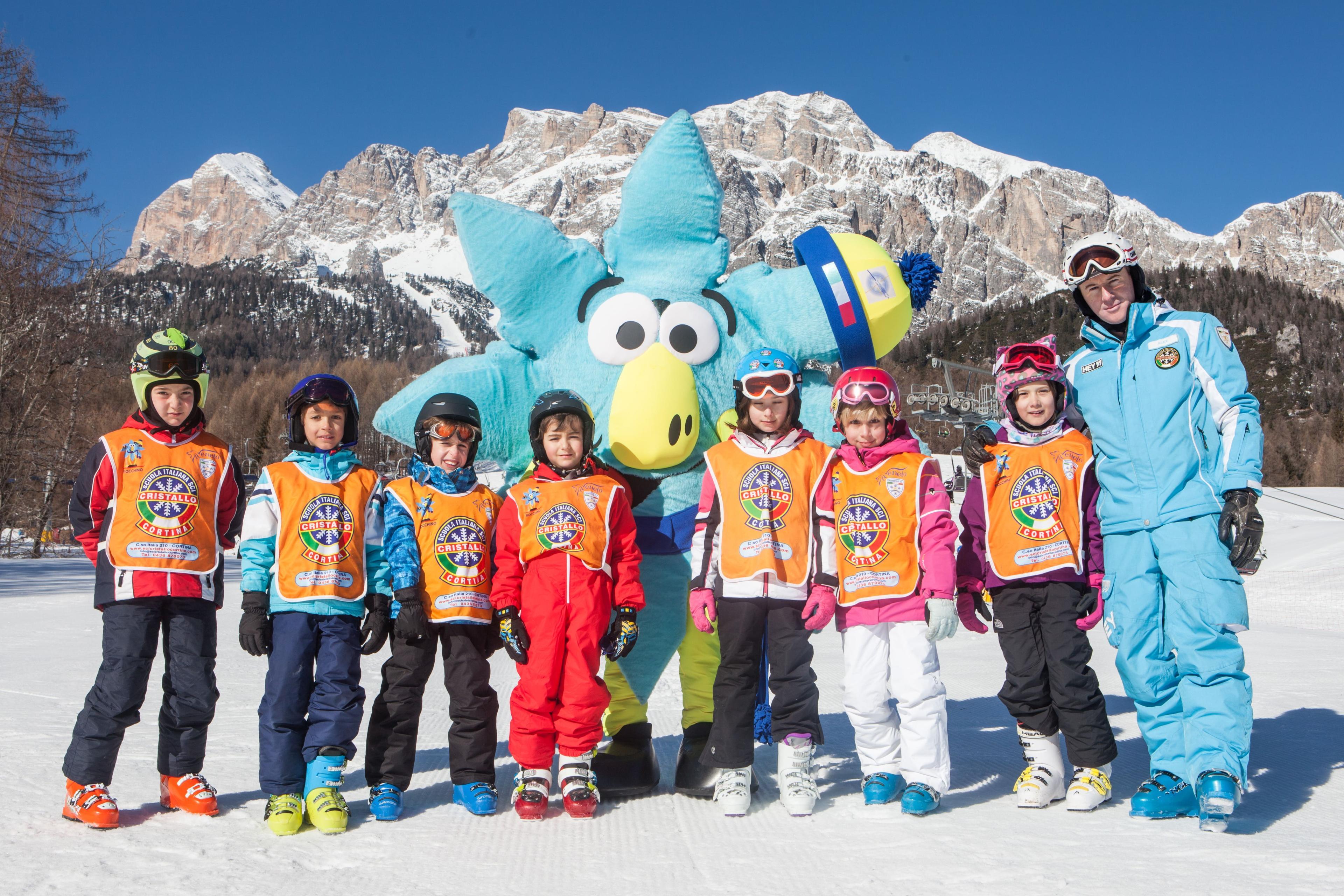 Ski Lessons for Kids (4-6 years) - Beginner