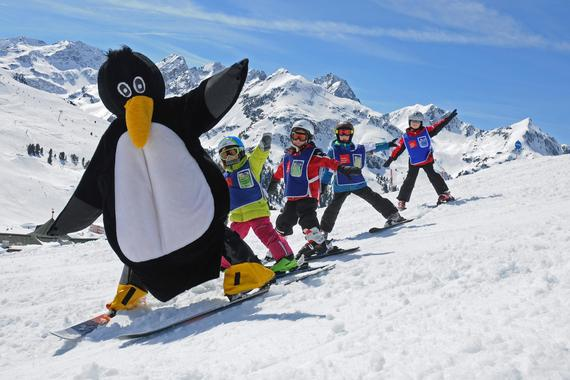 Kids Ski Lessons (from 4 y.) for Beginners