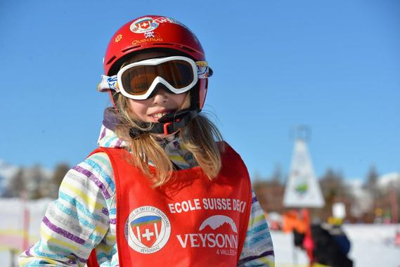 Kids Ski Lessons (6-12 y.) for First Timers - Full Day