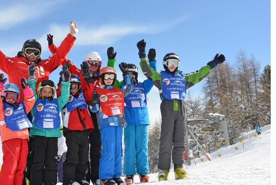 Kids Ski Lessons (6-12 y.) for Advanced Skiers - Afternoon