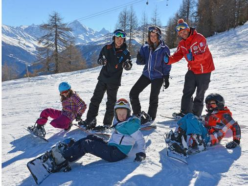 Snowboarding Lessons (from 8 y.) for First Timers - Holidays