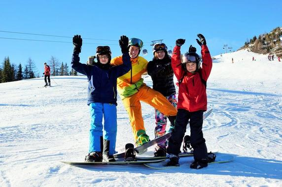Snowboarding Lessons (from 7 y.) for Beginners
