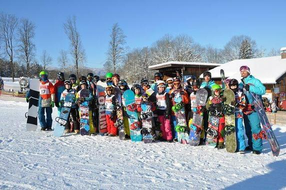 Snowboard Lessons for all Ages - All Levels