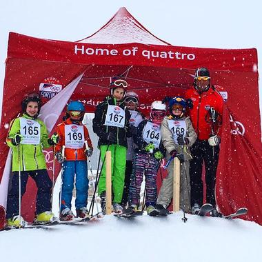 Ski Lessons for Kids (6-14 years) - Full Day - Advanced