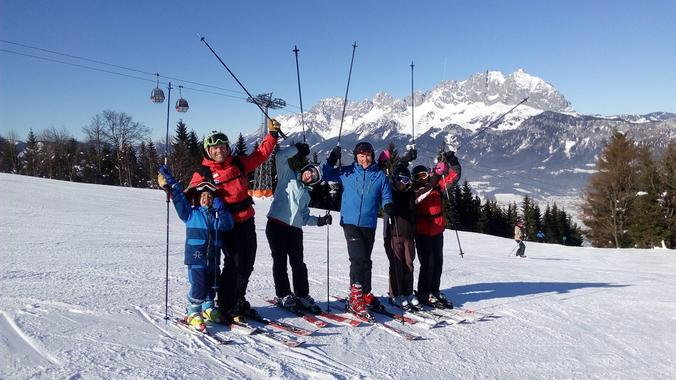 Private Ski Lessons for Kids for Advanced Skiers