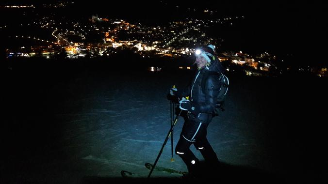 Private Ski Touring Guide for All Levels by Night