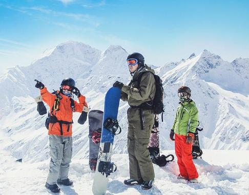 Snowboarding Lessons (from 14 y.) - High Season