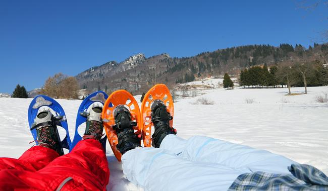 Private Snowshoeing Tour for All Ages & Levels