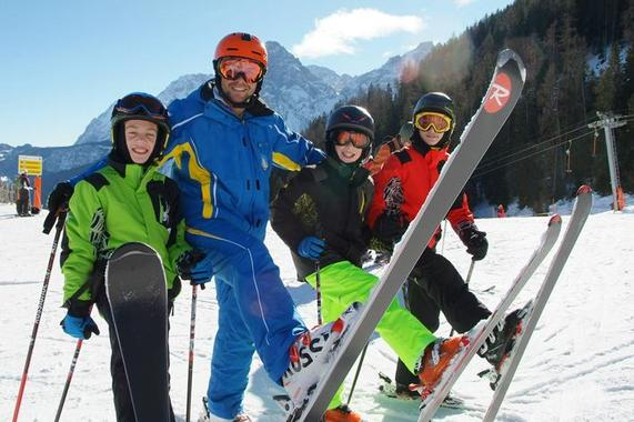 Ski Lessons for Kids (4-17 years) - Advanced