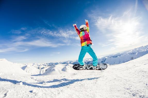 Snowboard Lessons for Kids (8-14 years) - Advanced