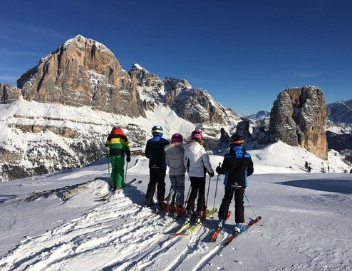 Ski Lessons for Kids (5-17 years) - Full Day - All Levels