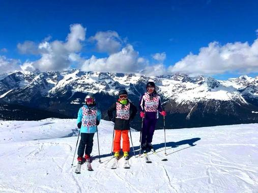 Kids Ski Lessons (5-14 y.) - Long Time - Advanced