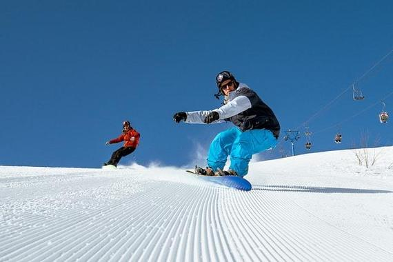 Adult Snowboarding Lessons for First Timers