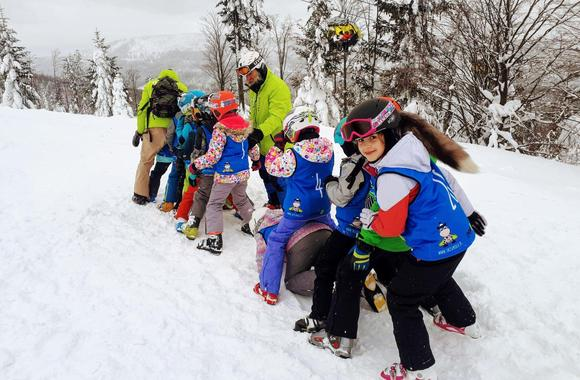 Ski Lessons for Kids (7-12 years) - All Levels