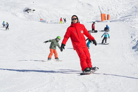 Snowboarding Lessons (from 7 y.) for All Levels