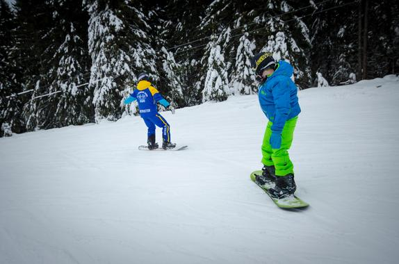 Private Snowboarding Lessons for Kids - All Levels