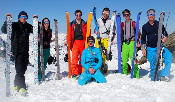 Ski Lessons for Teens & Adults - Les Carroz - All Levels