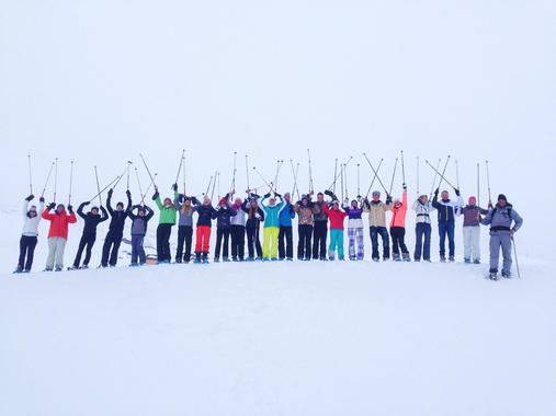 Adult Ski Lessons (from 14 y.) for All Levels