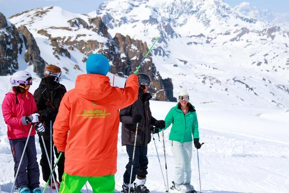 Adult Ski Lessons (from 14 y.) for All Levels - Holidays