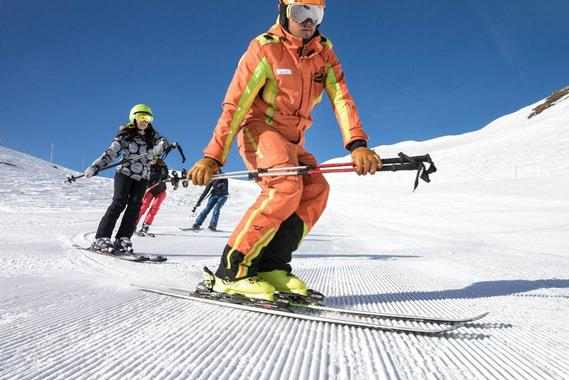 Adult Ski Lessons for Advanced Skiers - Half Day