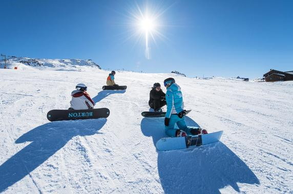 Snowboarding Lessons (from 13 y.) for All Levels