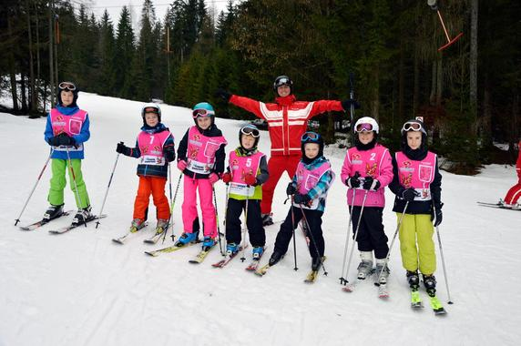 Kids Ski Lessons (6-13 y.) for Advanced Skiers