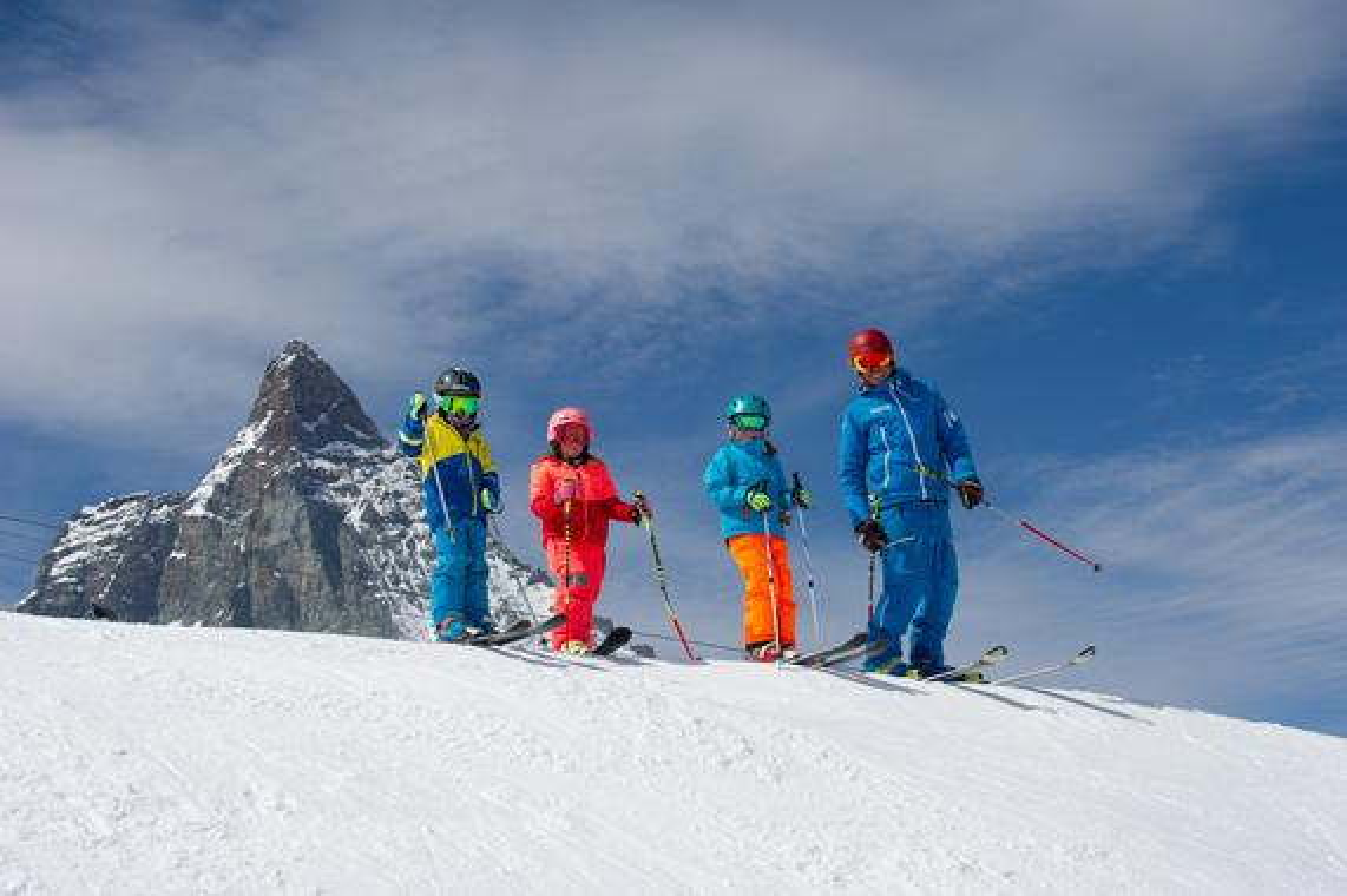 Teen Ski Lessons (12-16 y.) - Red & Black