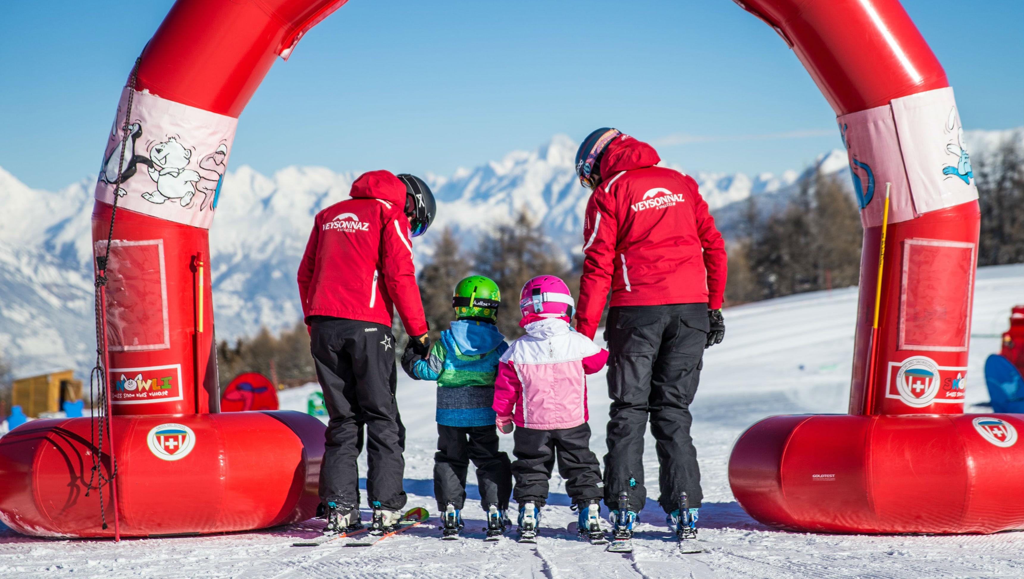Kids Ski Lessons (3-5 y.) - Full Day