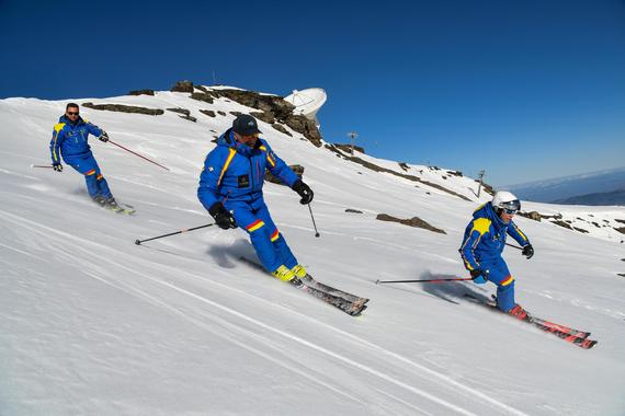 Ski Lessons for Adults - Weekend - Advanced