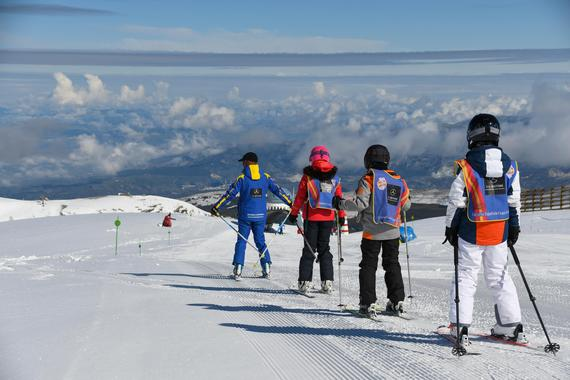 Private Ski Lessons for Kids (5-12 y.) of All Levels