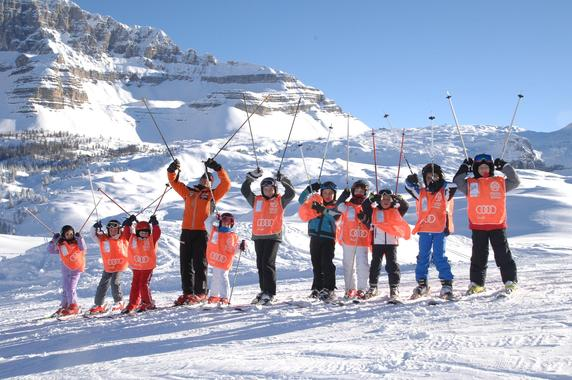 Kids Ski Lessons (4-12 y.) for Experienced Skiers - 3h